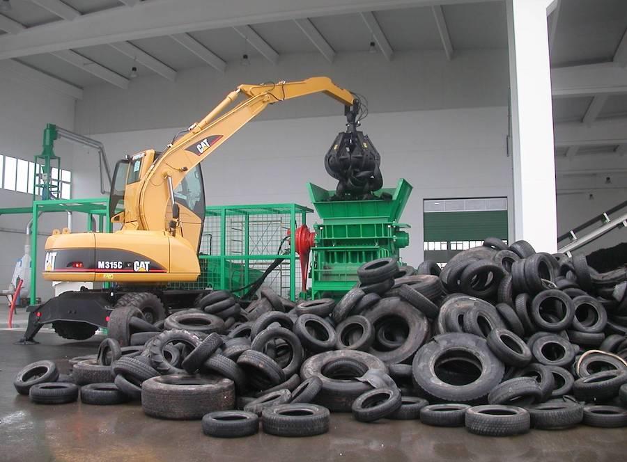 Утилизация шин за деньги