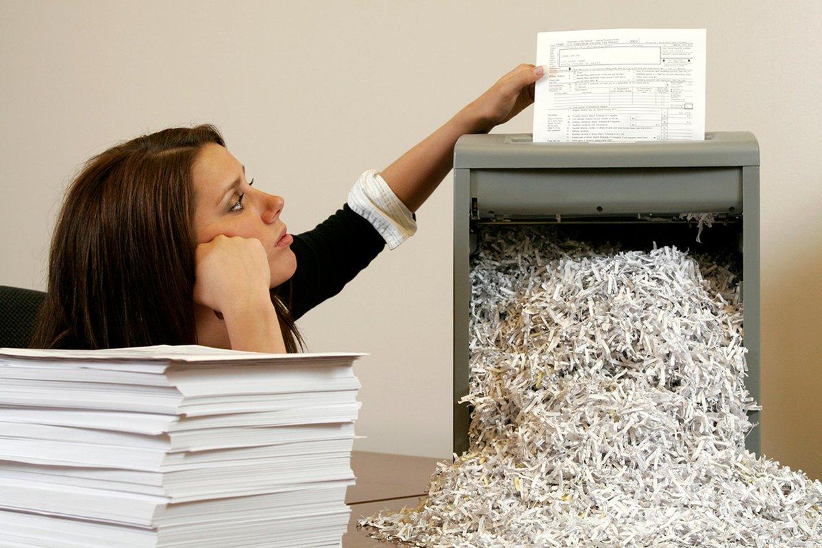 Порядок уничтожения документов