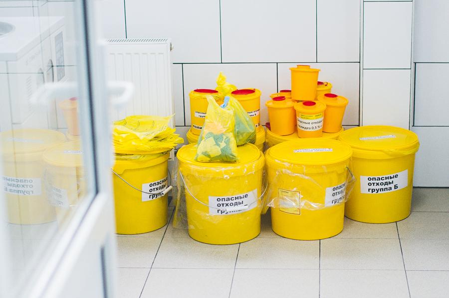 Утилизация отходов класса Б
